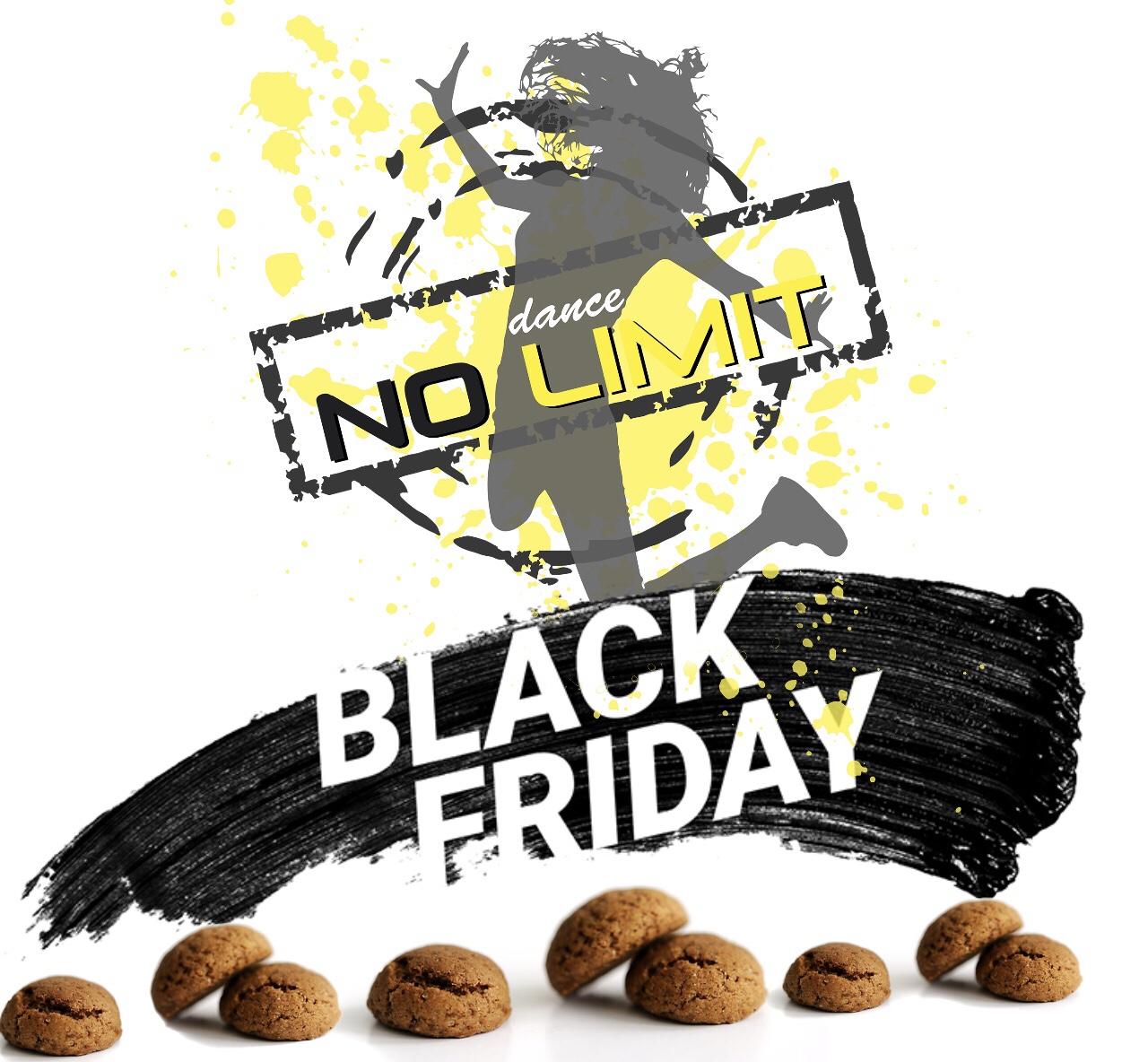 BLACK FRIDAY bij Dance-Fitness-Studio Dance No Limit