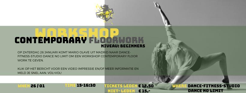 NEW! Specialty Workshop Contemporary Floorwork
